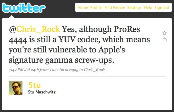 Stu Maschwitz's reply to http://twitter.com/Chris_Rock