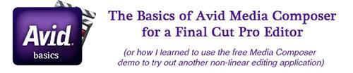 Avid Basics
