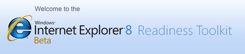 Internet Explorer 8 Readiness Toolkit