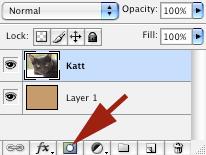 Lag «rufserammer» med Adobe Photoshop