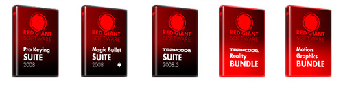 Red Giant & Trapcode Plugins
